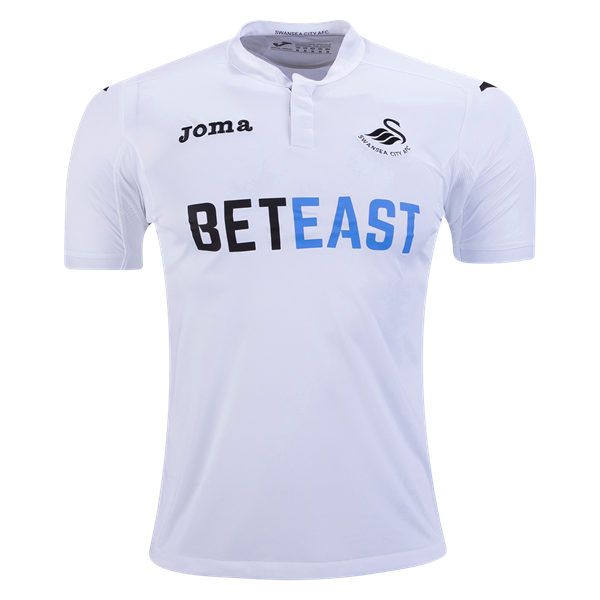 b58954073 Swansea City 16/17 Home Soccer Jersey - Premier League 2016/17 Jerseys at  WorldSoccershop.com #BritishPremierLeague #Soccer #Apparel #Athletes  #Training # ...