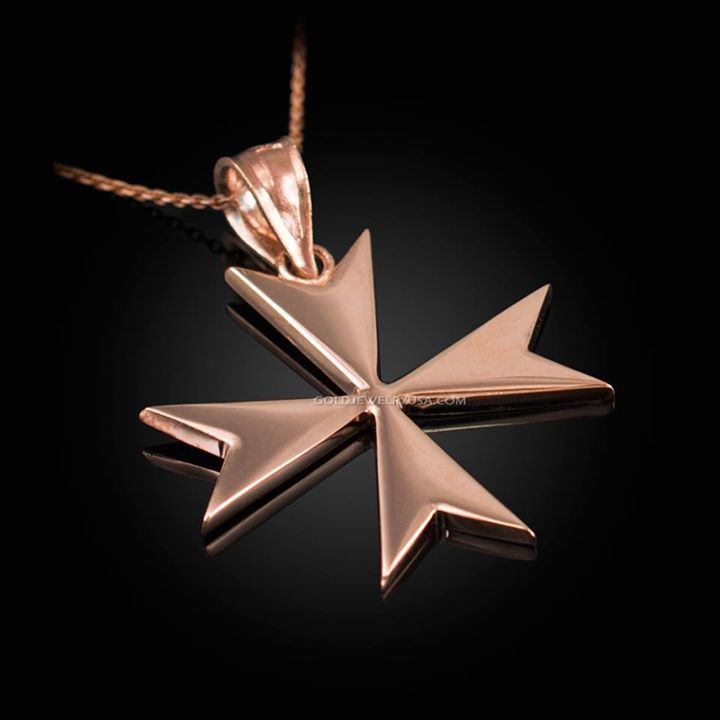 Rose gold maltese cross pendant necklace maltesecross rose gold maltese cross pendant necklace maltesecross maltesecrossnecklace goldmaltesecross rosegold mozeypictures