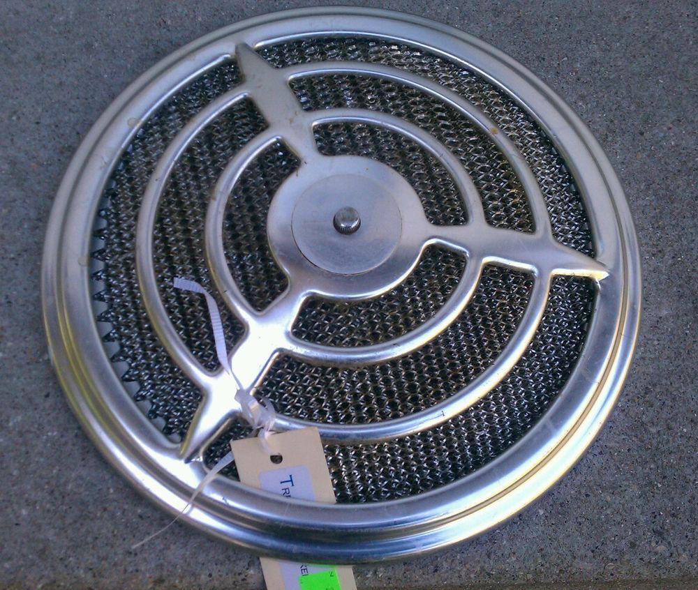 Emerson pryne bathroom exhaust fan - Vintage Chrome 13 Kitchen Bathroom Air Exhaust Fan Cover Knob W Filtler King In