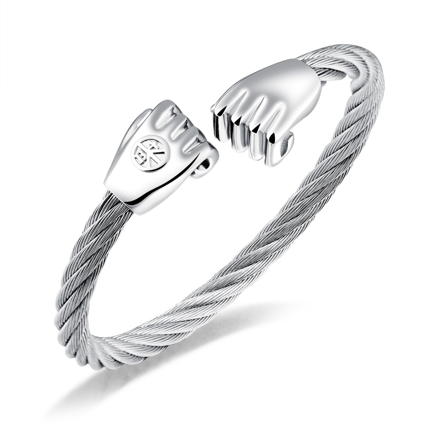 Click to buy ucuc new arriving fashion jewelry casual steel male