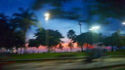 Até em movimento, a paisagem é linda!