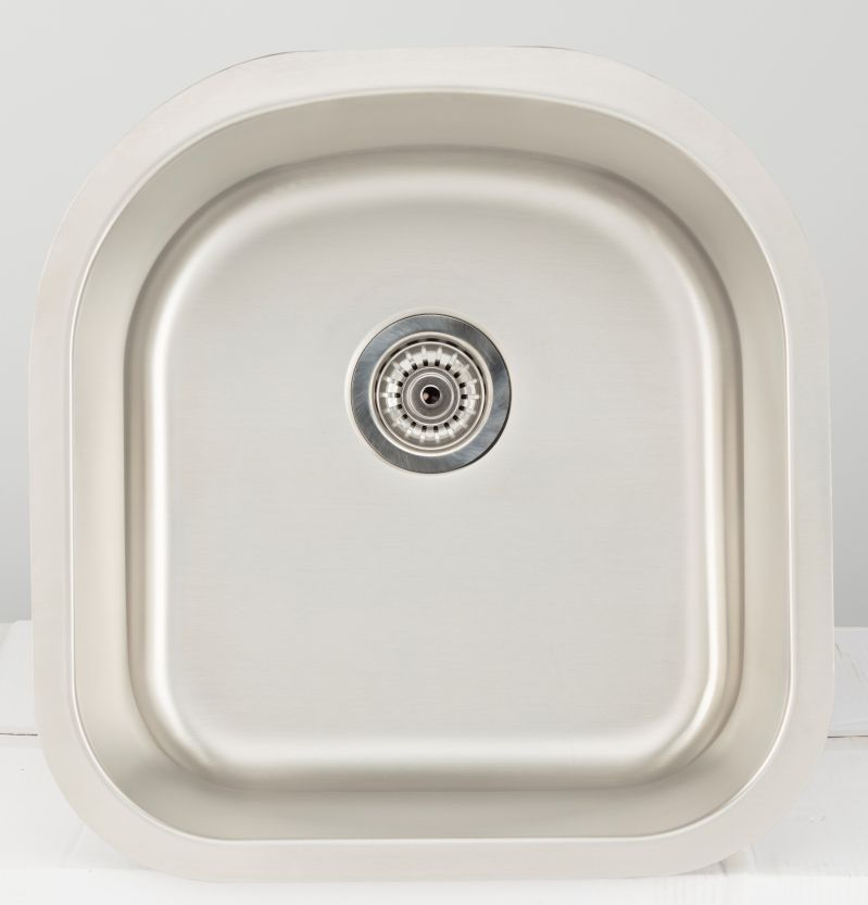 20 62 Inch W Single Bowl Undermount Kitchen Sink For A Wall Mount