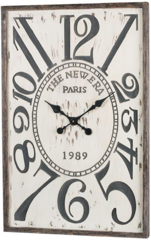 The New Era Rectangle Clock Harp Design Co A Certain