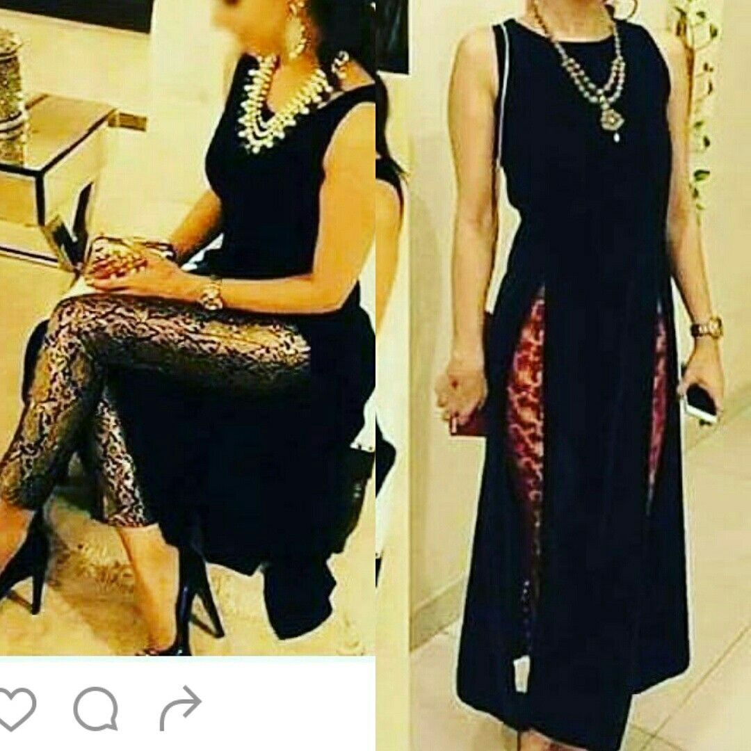 6760dfbb4b Brocade plazo with black kurta..for ordering Whatsapp 9781584343 ...