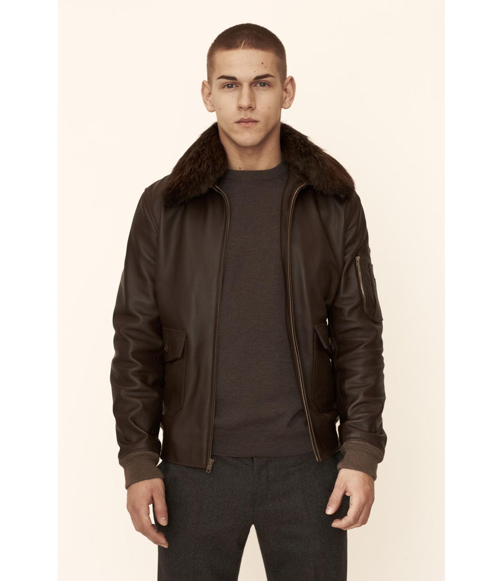 1adfc53e15 APC Louis W - Aviator jacket | Clothing Style | Aviator jackets ...