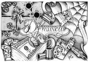 56 Ideer Om Gangster Tattoo Tatoveringer 7