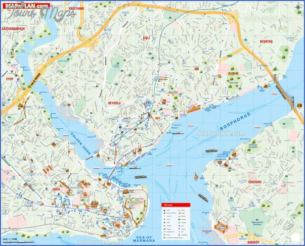 detailed street names english travel guide must see places best destinations to visit istanbul top tourist attractions map
