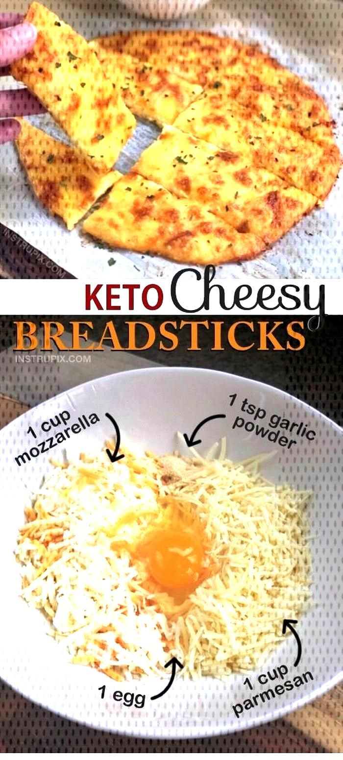 Keto Cheesy Garlic ( Breadsticks ) Searching for delicious and easy Keto Recipes ?! This will becom