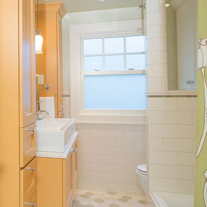 Love The Storage Solution! Small Hall Bathroom Remodel In NE Portland,  Irvington Neighborhood