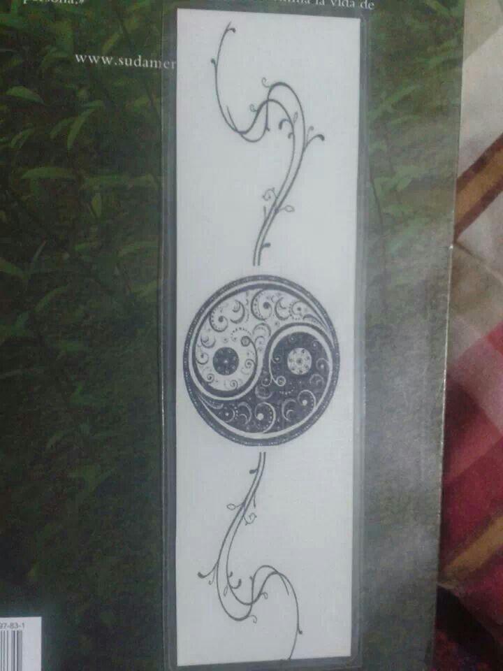 Yin yang separador de paginas