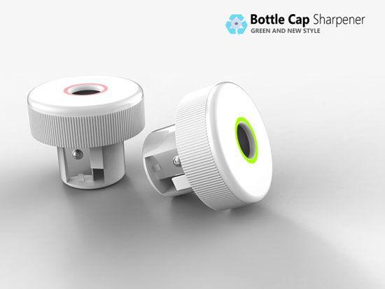 Bottle Cap Sharpener 1