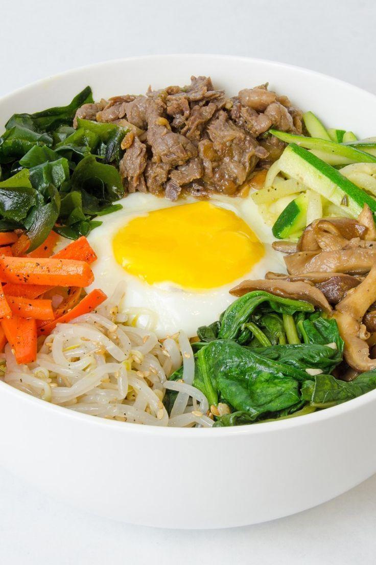 Korean Bibimbap with Beef Bulgogi | Recept