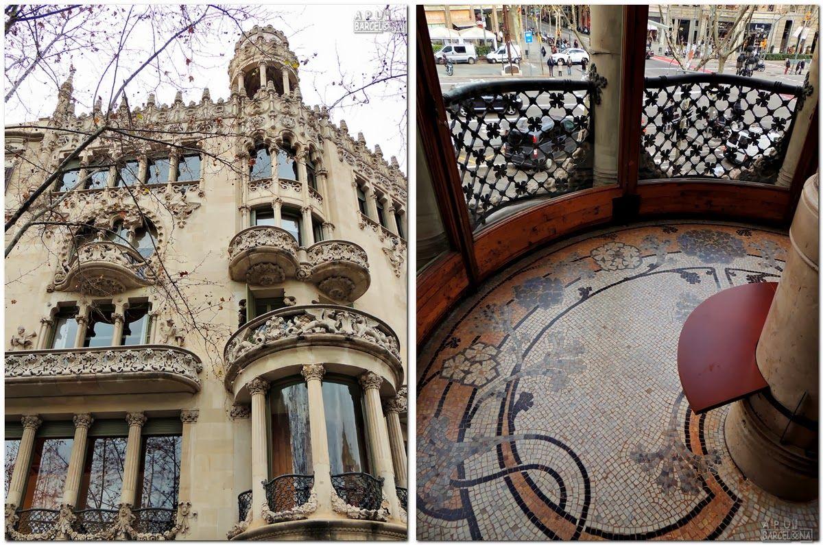 Resultado de imagen de arquitectura barcelona 1900 - Arquitectura barcelona ...