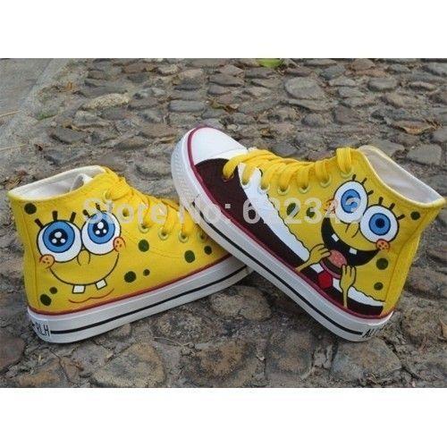 Online Shop Lovely SpongeBob Shoes