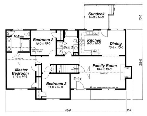 Floor Plan image of Featured House Plan BHG 6831 my dream home