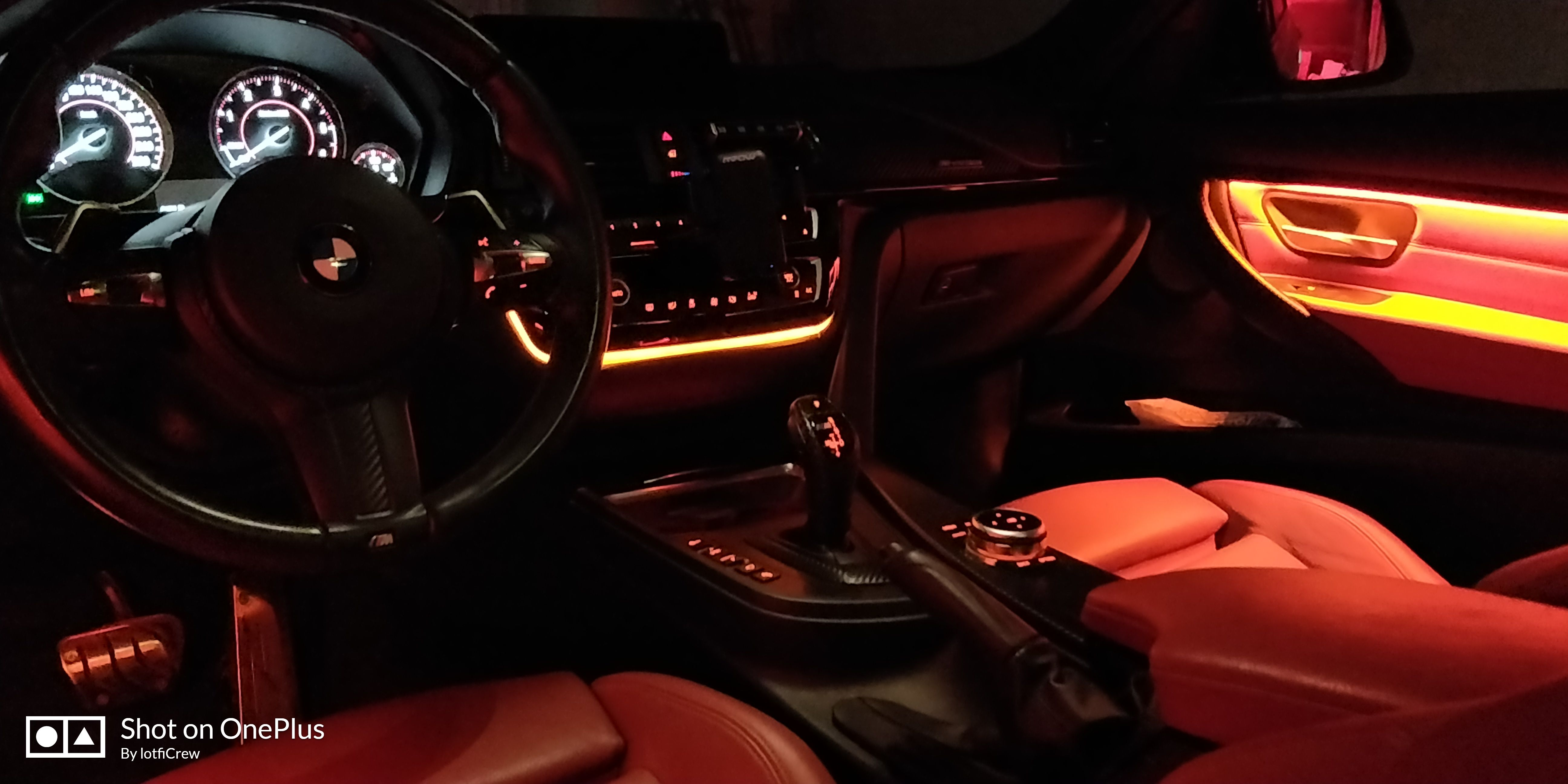 upgrade the led ambient lighting