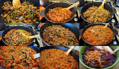 A Tuscan foodie in America: Experimenting with chili con carne
