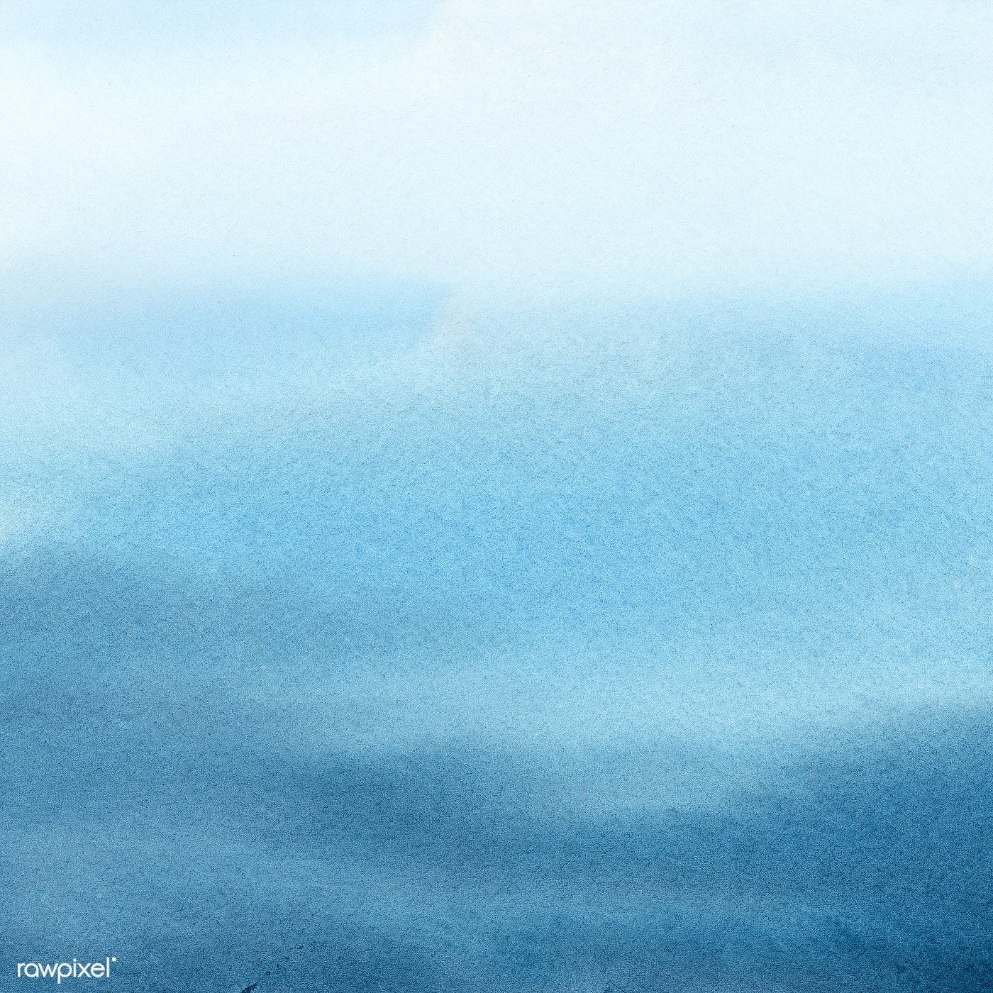 Download Premium Illustration Of Calm Blue Ocean In Water Color