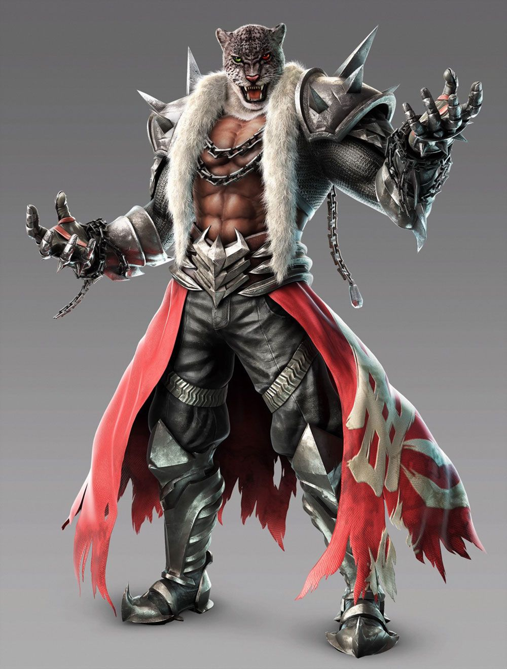 Armor King Character Artwork From Tekken 7 Fated Retribution Art