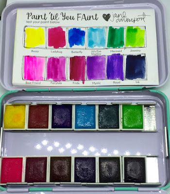 Review Jane Davenport Watercolor Palette Sets Watercolor Palette