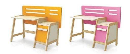 Modern Study Desk For Kids In Color A