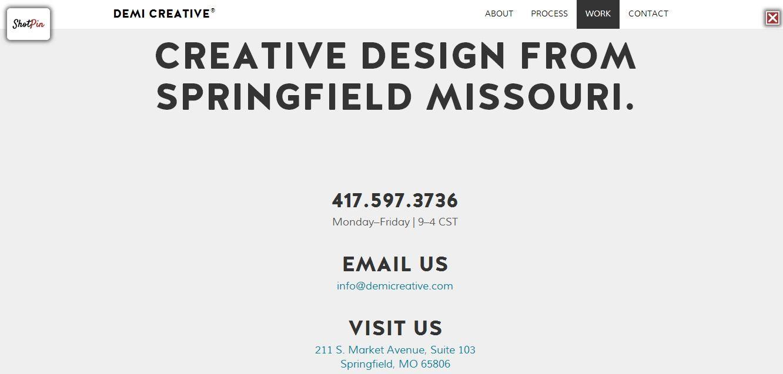 Work Web Design Springfield Missouri Creative Design