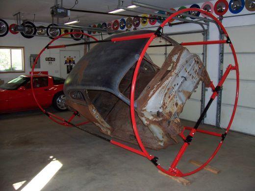 Auto Rotisserie Plans Garage Workshop Mechanic Garage Car Tools