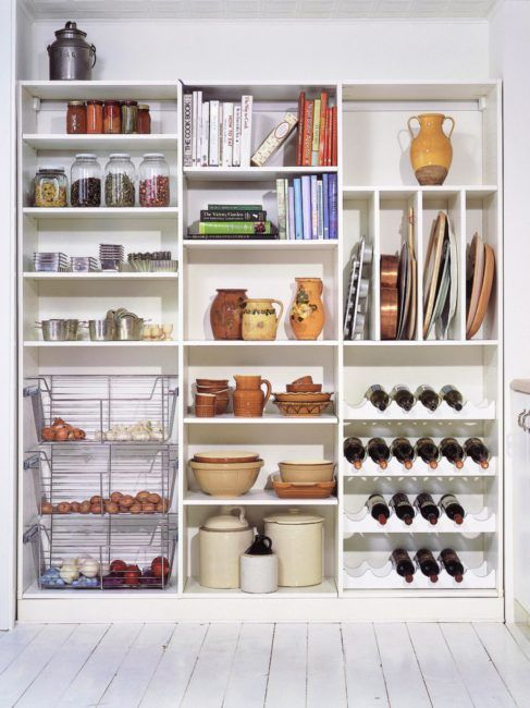 A secret weapon for the large storage cabinet   Home Ideas   Pinterest