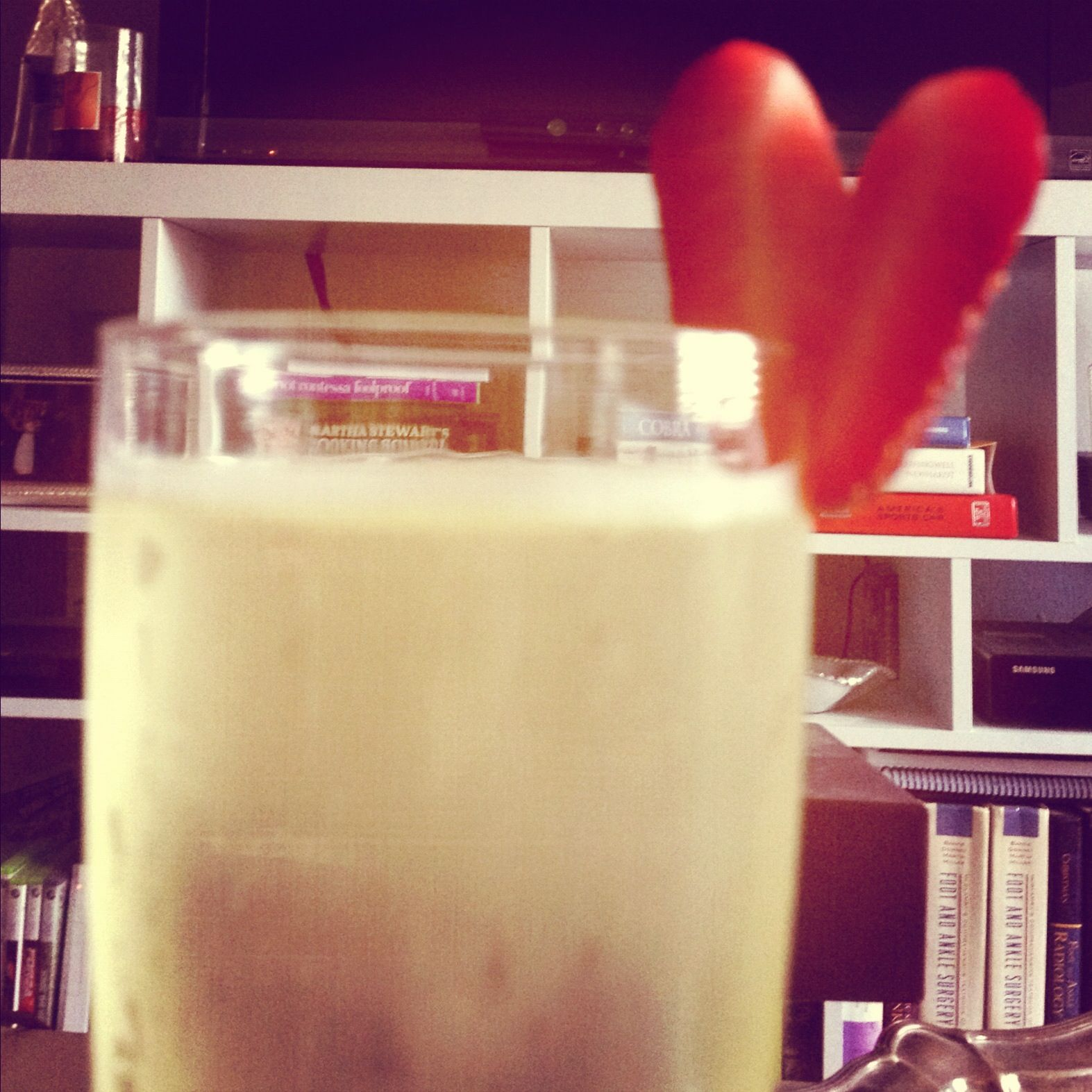 Sweetheart Champagne. Happy Valentine's Day!