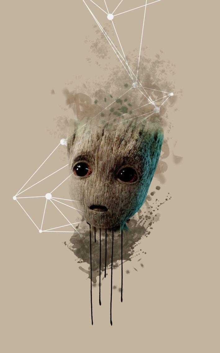 Baby Groot Wallpaper für  Guardians of the Galaxy    Baby Groot Wallpaper für  Guardians of the Galaxy