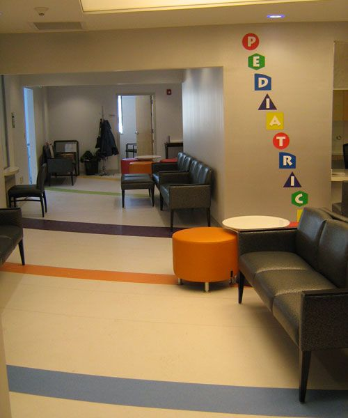 NAME: PHC North Expansion (People's North)  PRODUCT: Azrock-Karim Kolors and Shapes