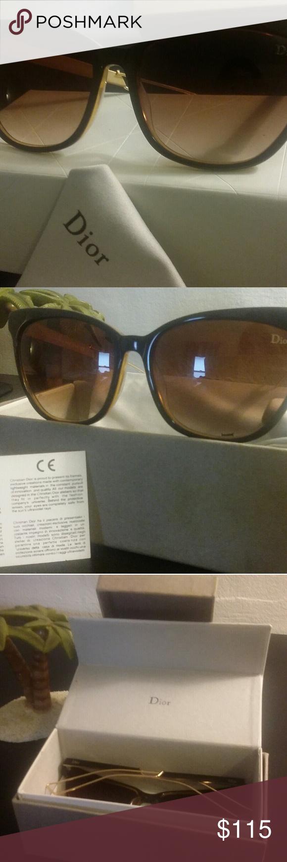 2c2bcb35493 Brand New stunning Christian Dior women Sunglass