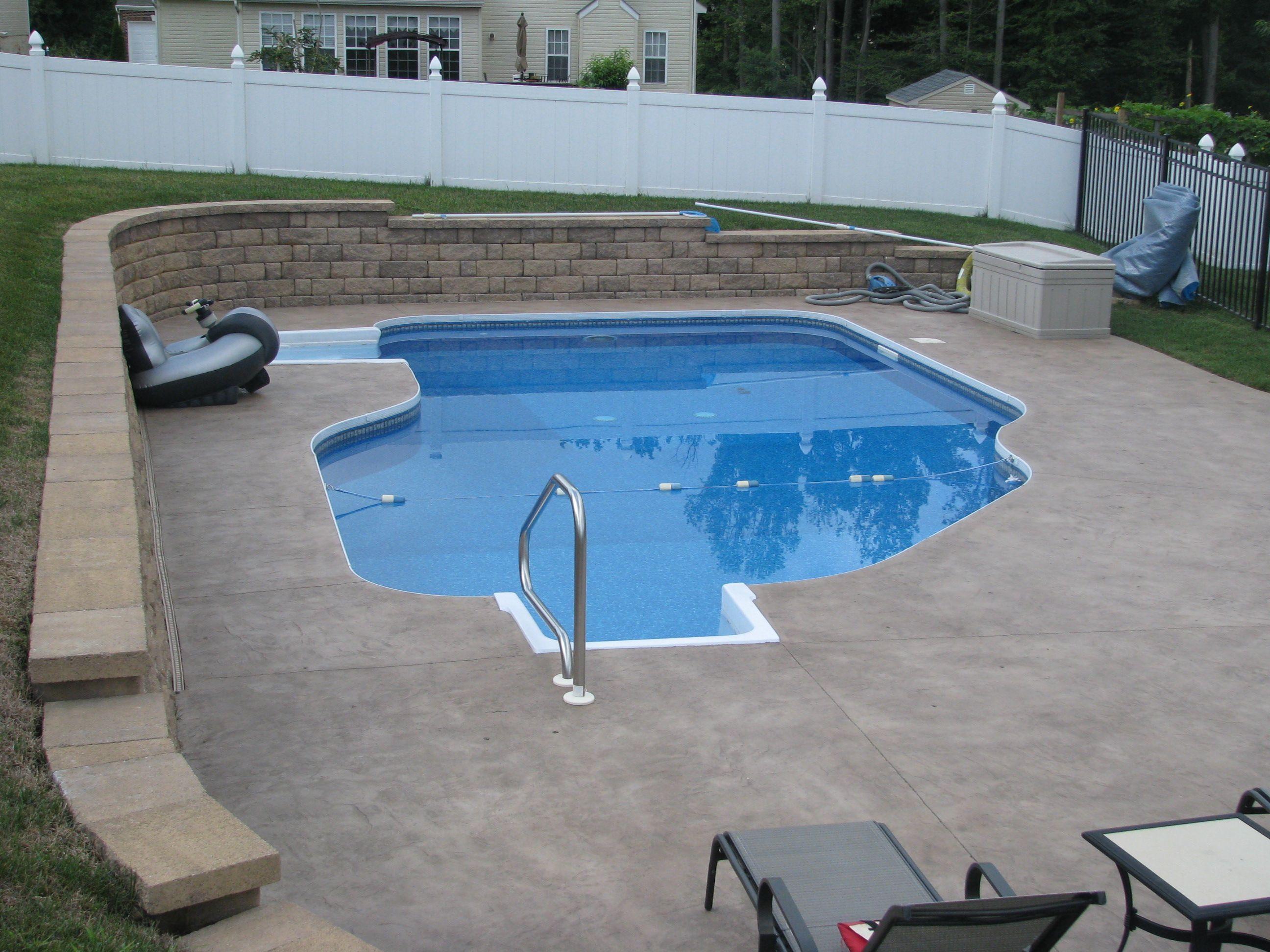 Admiral Pools Llc Pool Houses Swimming Pools Pool Retaining Wall