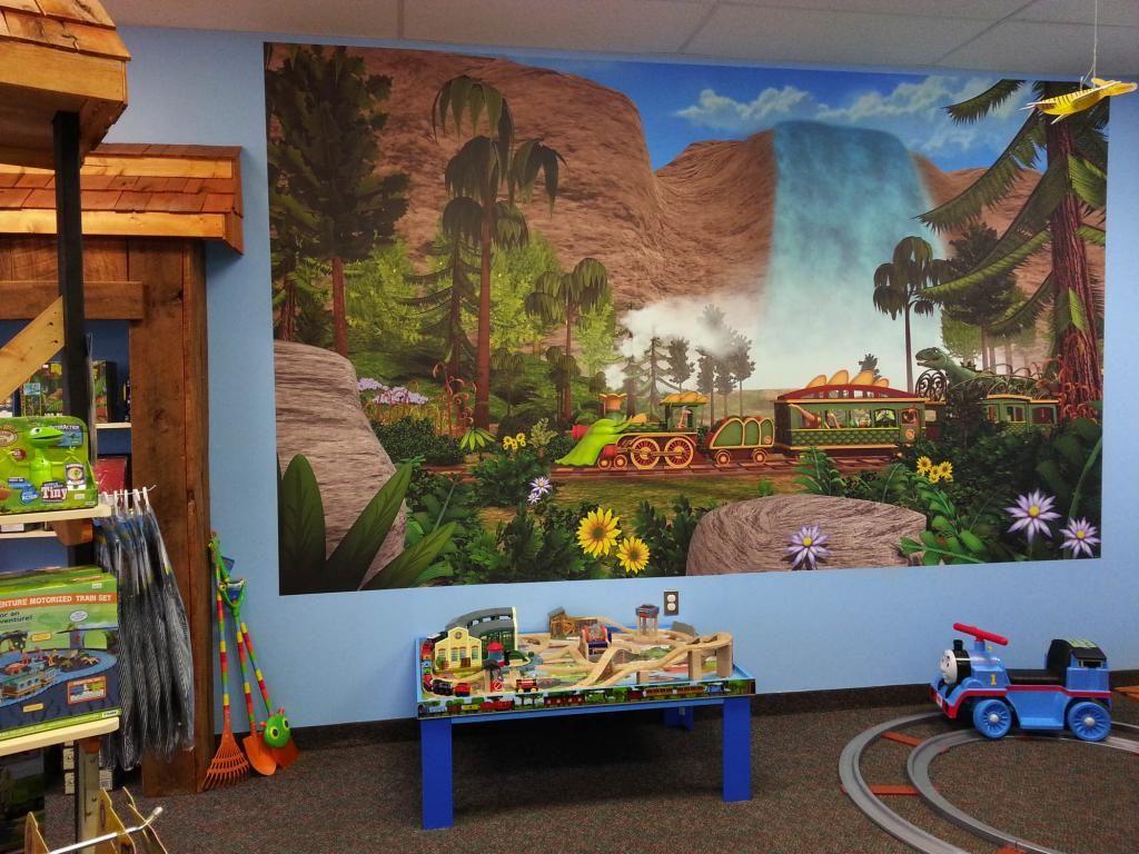 Retail store murals murals your way