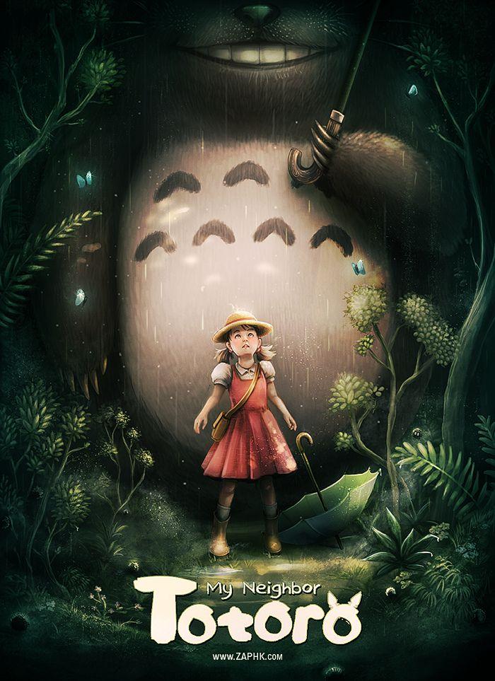 Totoro Totoro, Film animation japonais, Miyazaki