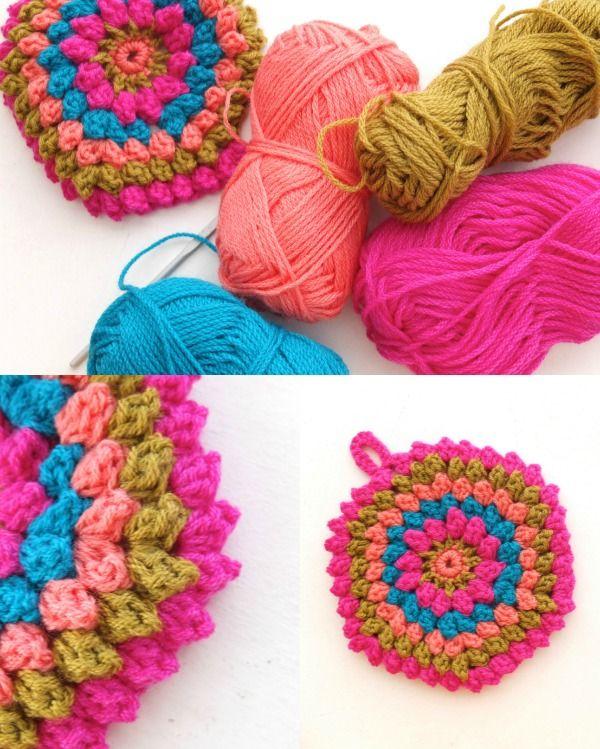 How to: Crochet a Popcorn Stitch - Video Tutorial | Popcorn stitch ...