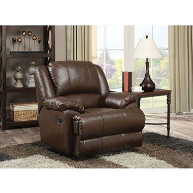 Enjoyable O Connor Leather Recliner House Leather Recliner Inzonedesignstudio Interior Chair Design Inzonedesignstudiocom
