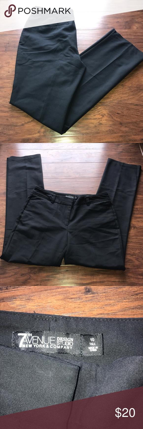 2 30 New York Company Size 10 Tall Dress Pants New York Company Dress Pants Clothes Design [ 1740 x 580 Pixel ]