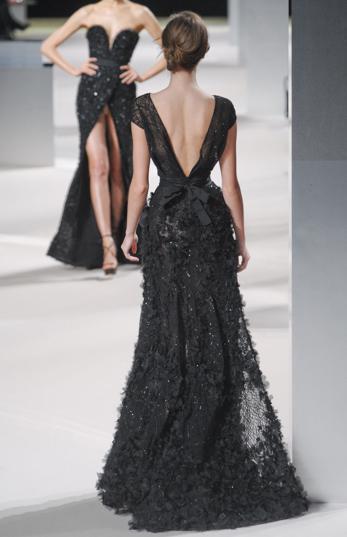 Elie Saab Black Dresses 2dayslook New Style Blackstyle Www