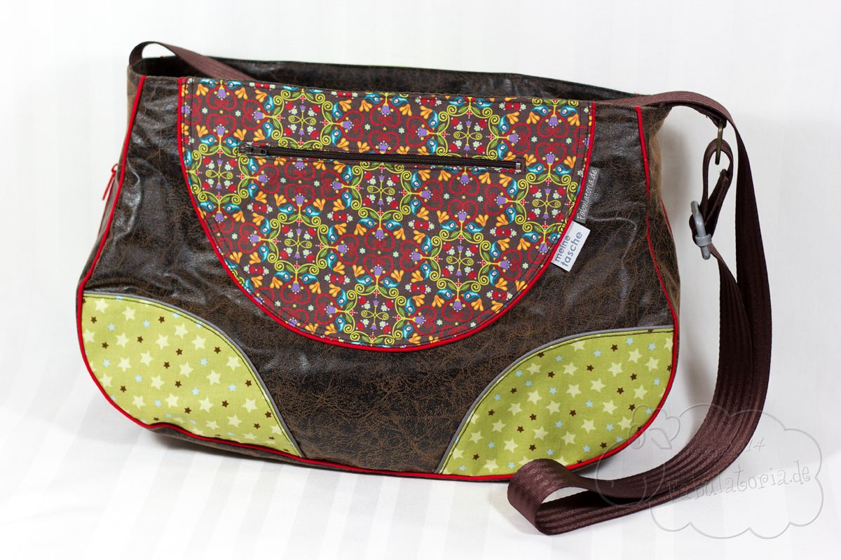 Schnabelina Bag, pattern by Schnabelinas Welt | made by Fabulatoria ...