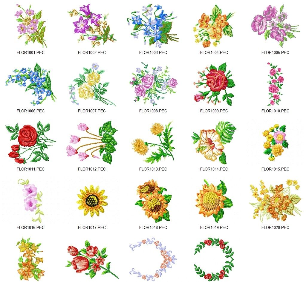 2090 Embroidery Designs CD for a Low Price – Free ...