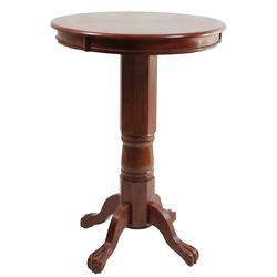Florence Pedestal Pub Table in Cherry