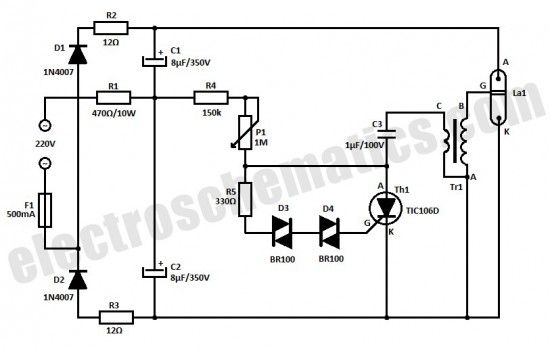 Strobe Light Circuit Leds