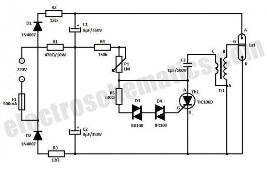 led strobe circuit