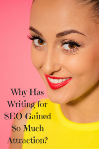 The major reason that SEO writing has become so popular in the last several years is that it refers to writing in a style that is informative for the reader while also playing to the strengths of search engines | Six Figure Writing Secrets