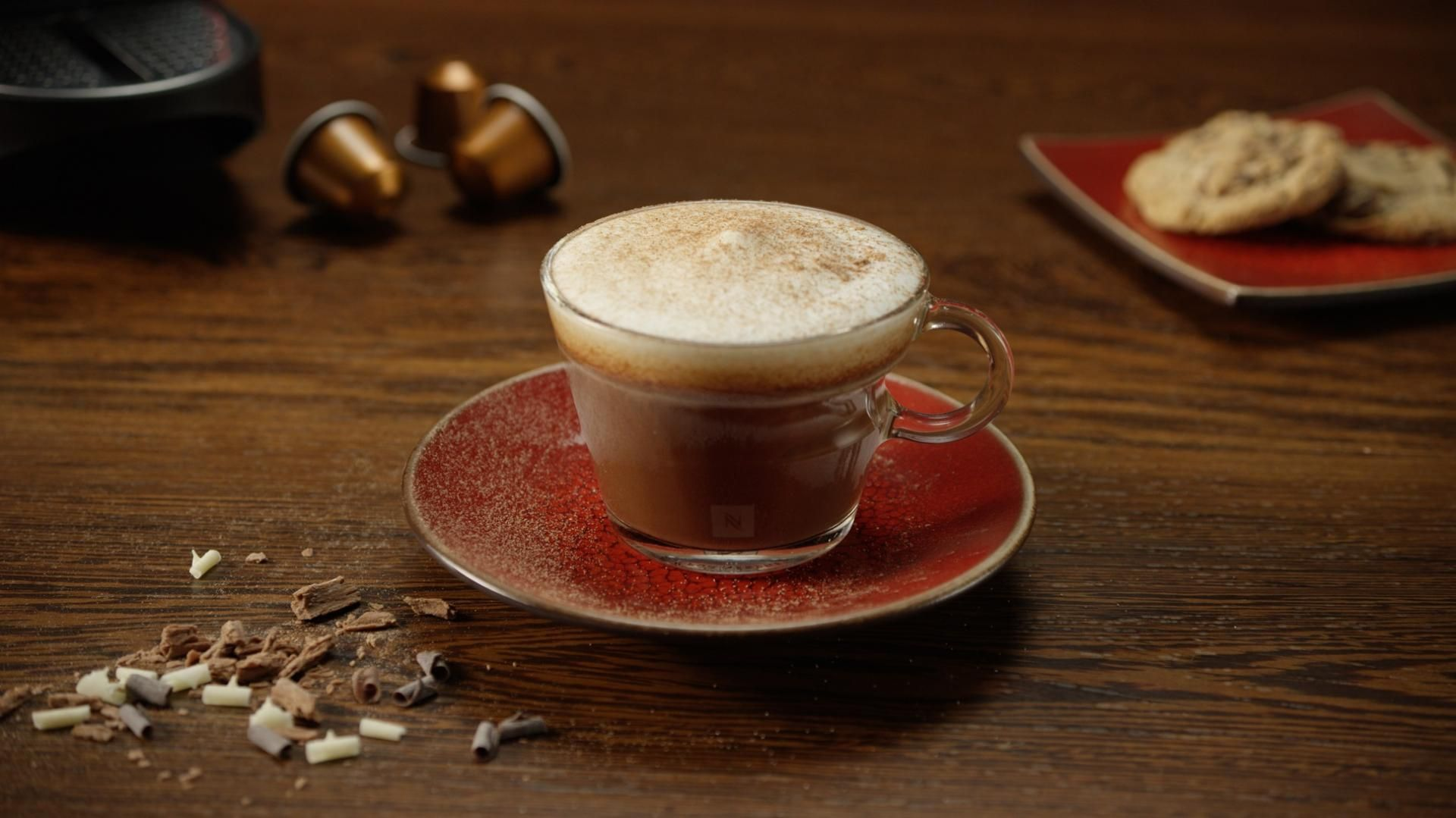 Mocca Latte by Nespresso Recipe Almond milk coffee