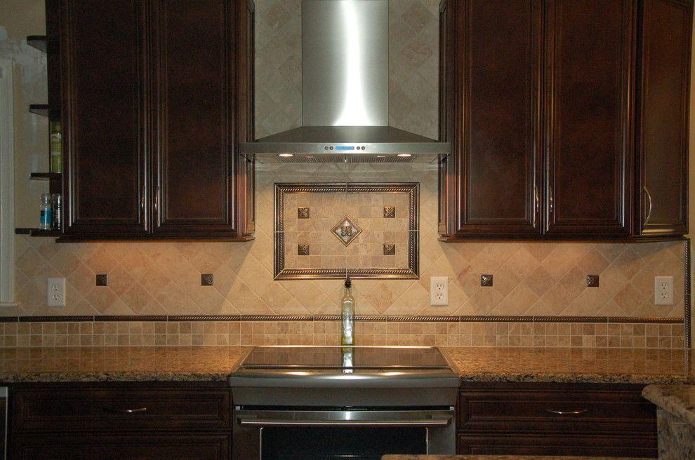 Metal Tile For Accent In Kitchen Backsplash