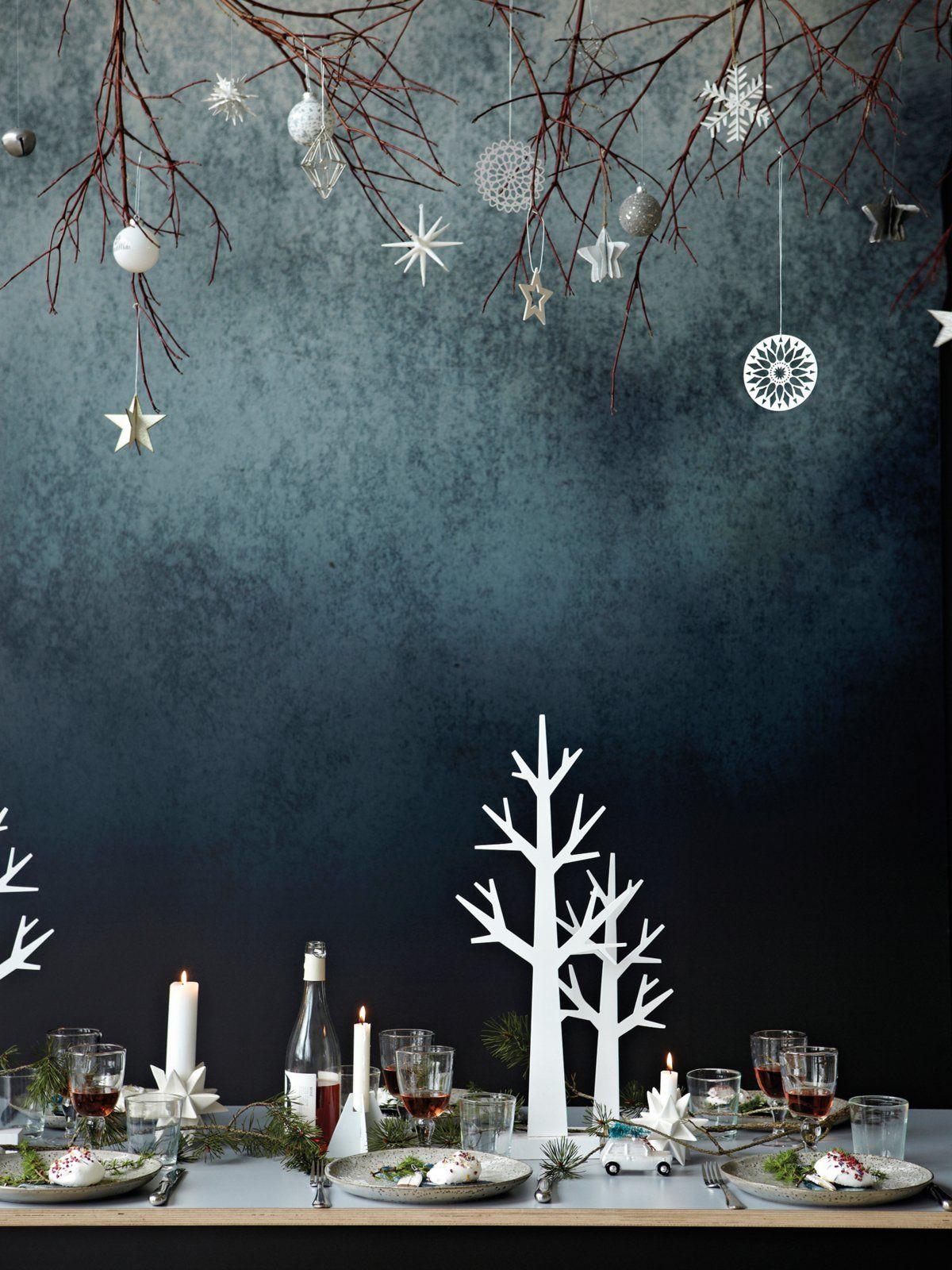 25 einzigartige tischdeko weihnachten ideen auf pinterest. Black Bedroom Furniture Sets. Home Design Ideas