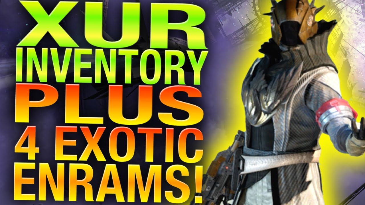 Xur Location Week 43 - Universal Remote - Destiny Xur Recommendations
