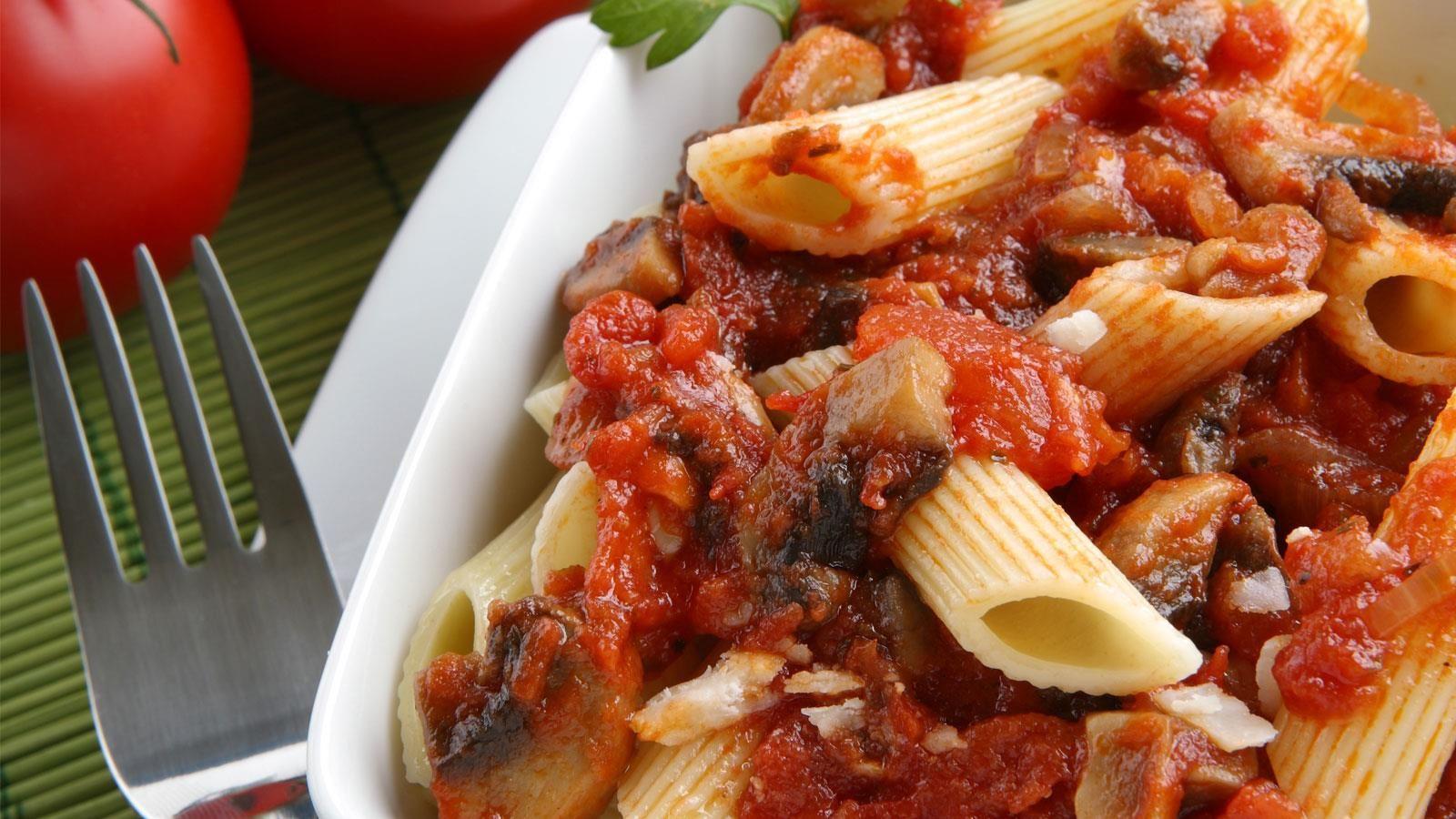 Creamy Mediterranean pasta